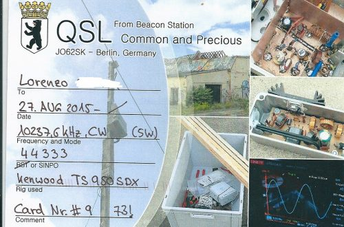 common and precious qsl